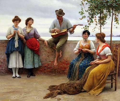 1006 Eugene De Blaas Paintings oil paintings for sale