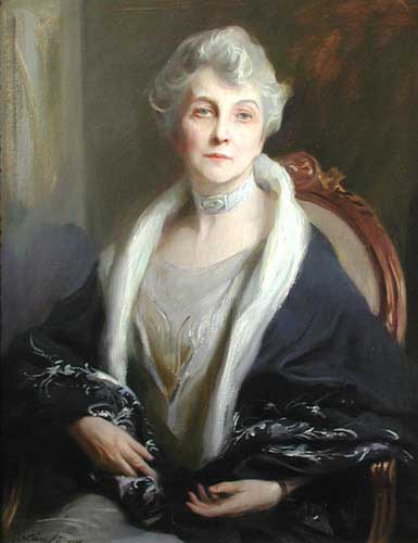 Oil Paintings Production:Philip De Laszlo(UK): Portrait of Mrs. Kellogg