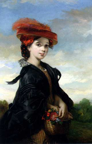 Painting Code#1066-Joy, Thomas Musgrove: The Red Hat