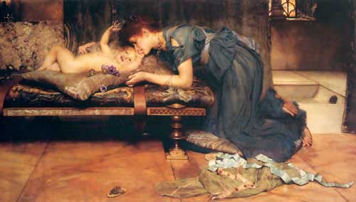 Painting Code#1081-Alma-Tadema, Sir Lawrence: An Earthly Paradise