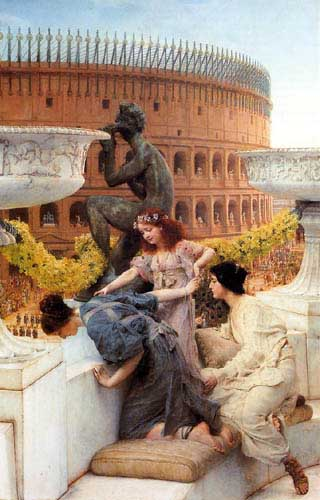 Oil Paintings Production:Alma-Tadema, Sir Lawrence: The Colosseum hspace=