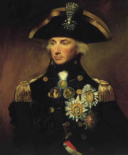 Painting Code#1094-Abbott, Lemuel Francis: Rear-Admiral Sir Horatio Nelson