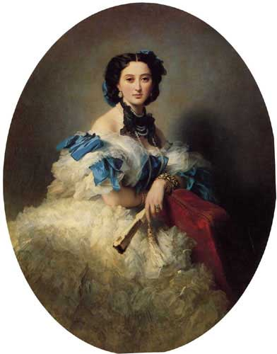 Oil Paintings Production:Winterhalter, Franz Xavier: Countess Varvara Alekseyevna Musina Pushkina hspace=