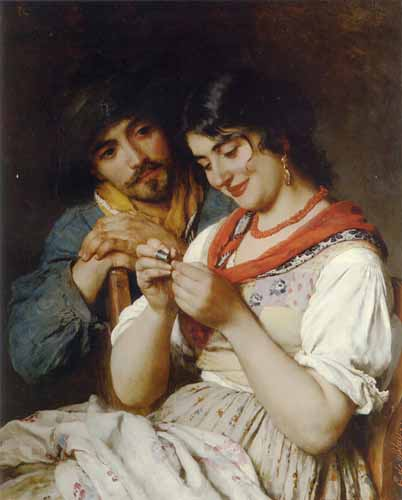 11010 Eugene De Blaas Paintings oil paintings for sale