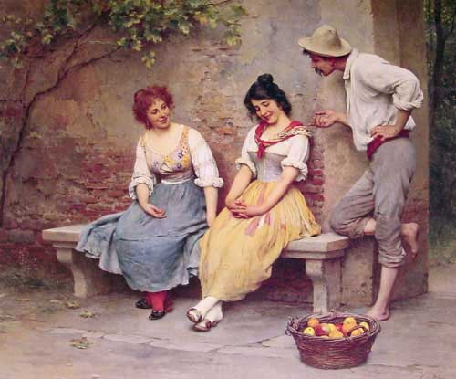 11013 Eugene De Blaas Paintings oil paintings for sale