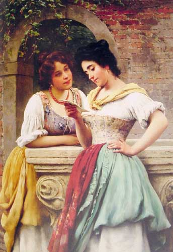 11020 Eugene De Blaas Paintings oil paintings for sale