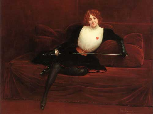 11038 Jean Beraud Paintings oil paintings for sale