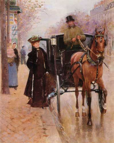11044 Jean Beraud Paintings oil paintings for sale