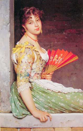 11066 Eugene De Blaas Paintings oil paintings for sale