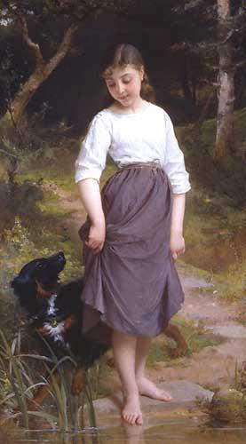 11549 Emile Munier Paintings oil paintings for sale