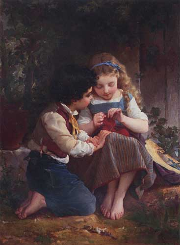11659 Emile Munier Paintings oil paintings for sale