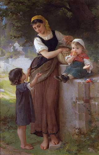 11663 Emile Munier Paintings oil paintings for sale