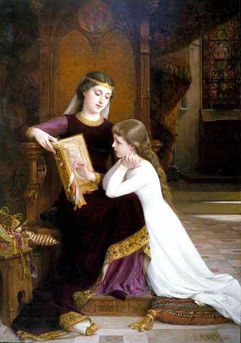 11666 Emile Munier Paintings oil paintings for sale