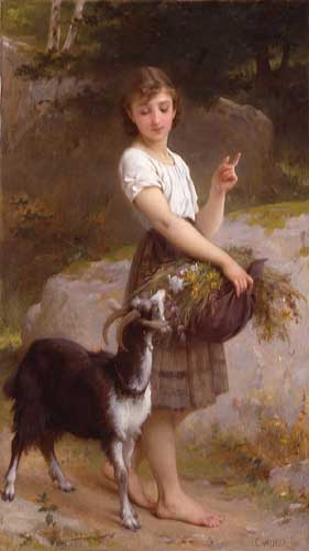 11668 Emile Munier Paintings oil paintings for sale