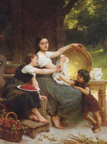 11669 Emile Munier Paintings oil paintings for sale
