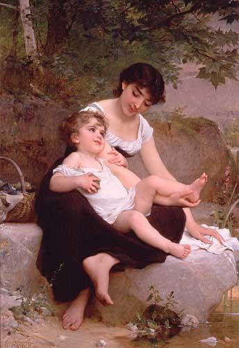 11670 Emile Munier Paintings oil paintings for sale