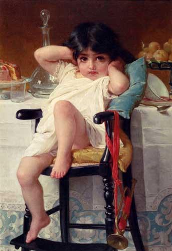 11674 Emile Munier Paintings oil paintings for sale