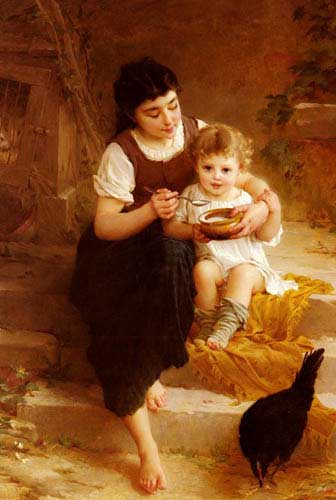 11676 Emile Munier Paintings oil paintings for sale