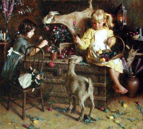 11751 Morgan Weistling Paintings oil paintings for sale