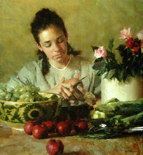 Painting Code#11753-Weistling, Morgan: Kitchen Duty