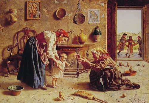 11853 Eugenio Zampighi Paintings oil paintings for sale