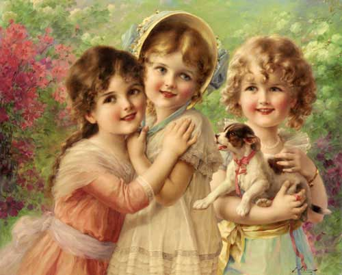 11892 Emile Vernon Paintings oil paintings for sale