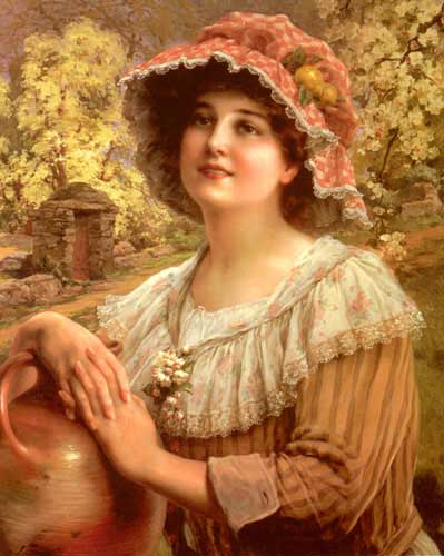 11893 Emile Vernon Paintings oil paintings for sale