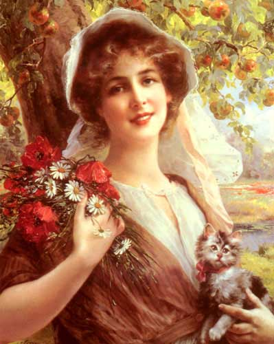 11894 Emile Vernon Paintings oil paintings for sale