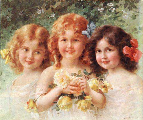 11897 Emile Vernon Paintings oil paintings for sale