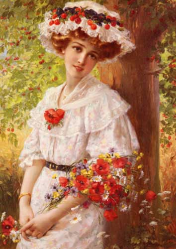 11898 Emile Vernon Paintings oil paintings for sale