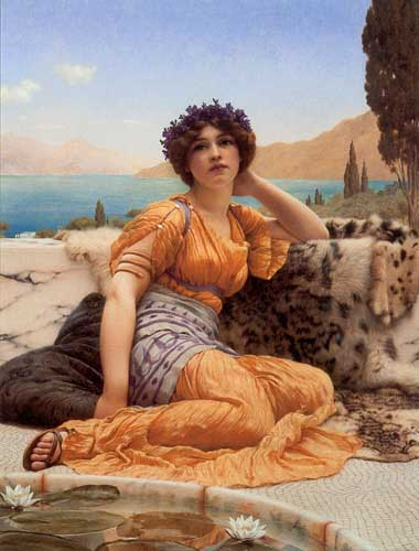 1199 John William Godward paintings oil paintings for sale