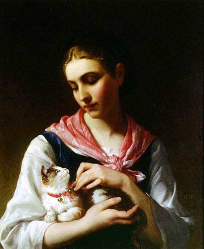 12056 Emile Munier Paintings oil paintings for sale