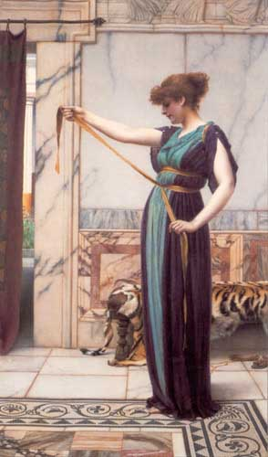 12071 John William Godward paintings oil paintings for sale