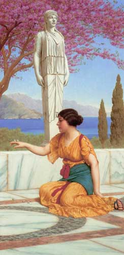 12072 John William Godward paintings oil paintings for sale