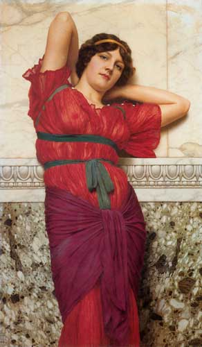 12074 John William Godward paintings oil paintings for sale