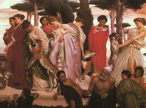 12117 Frederic Leighton Paintings oil paintings for sale