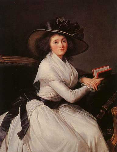 Oil Paintings Production:Vigee-Le Brun, Elisabeth Louise(France): Comtesse de la Chatre hspace=