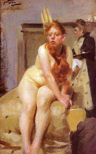 12312 Anders Zorn Paintings oil paintings for sale