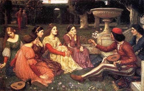 12628 John William Waterhouse Paintings oil paintings for sale