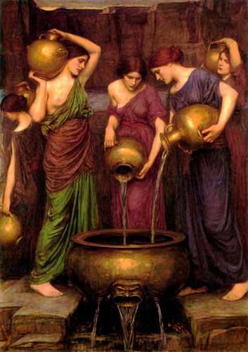 12632 John William Waterhouse Paintings oil paintings for sale