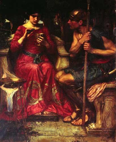 12637 John William Waterhouse Paintings oil paintings for sale