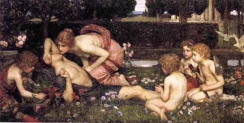 12645 John William Waterhouse Paintings oil paintings for sale