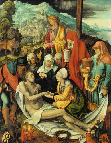 Oil Paintings Production:Durer, Albrecht: Lamentation for Christ hspace=