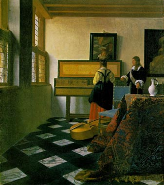 1334 Johannes Vermeer Paintings oil paintings for sale