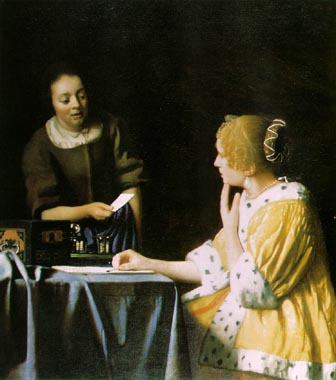 1336 Johannes Vermeer Paintings oil paintings for sale