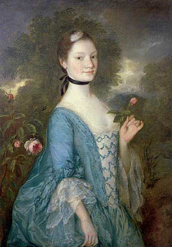 Painting Code#1374-Gainsborough, Thomas: Lady Innes