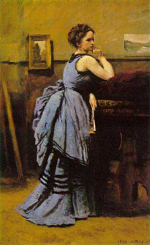 15014 Jean Baptiste Camille Corot Paintings oil paintings for sale