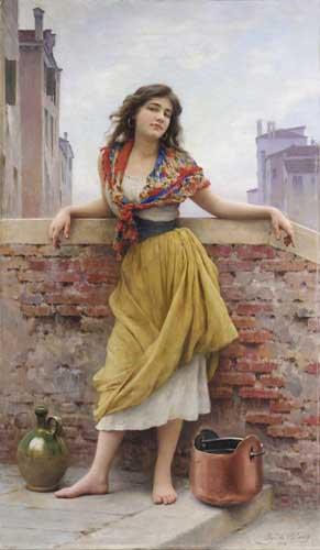 1502 Eugene De Blaas Paintings oil paintings for sale