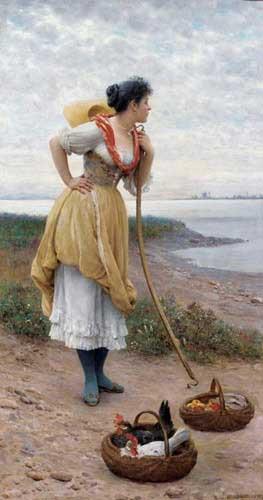 1505 Eugene De Blaas Paintings oil paintings for sale