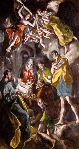 15074 El greco famous paintings oil paintings for sale